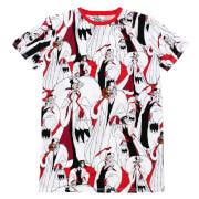 Cakeworthy Cruella AOP T-Shirt