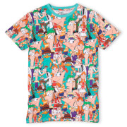 Cakeworthy Phineas And Ferb AOP T-Shirt