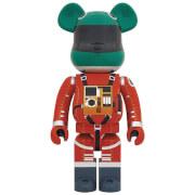 Medicom 2001 A Space Odyssey Green Helmet & Orange Spacesuit 1000% Be@rbrick