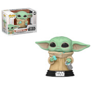 Star Wars The Mandalorian The Child with Cookie Funko Pop! Vinyl