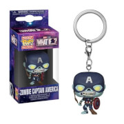 Marvel What If…? Zombie Captain America Funko Pop! Keychain