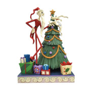 Disney Traditions Santa Jack With Zero Fig