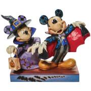 Disney Traditions Mickey et Minnie Figurine Vampire