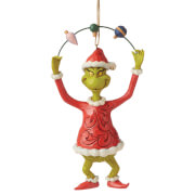 The Grinch By Jim Shore Grinch Juggling Ornaments Hanging Ornament