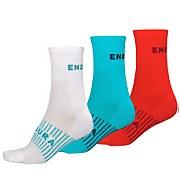Women's Coolmax® Race Sock (Triple Pack) - Pacific Blue