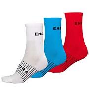 Coolmax® Race Sock (Triple Pack) - White