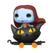 Nightmare Before Christmas Sally in Cat Cart Funko Pop! Train