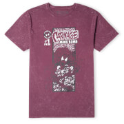 Venom Carnage Comic Unisex T-Shirt - Burgundy Acid Wash