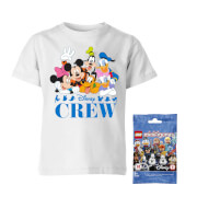 Disney Tee & LEGO Minifigure Bundle Men's T-Shirt - White