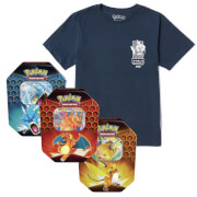 Lot Pokémon Magicarpe : T-Shirt & Cartes Pokémon TCG : Hidden Fates Tin