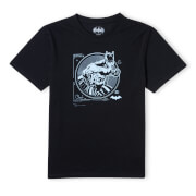 Batman Target Screen Unisex T-Shirt - Black