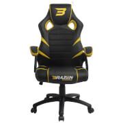 BraZen Puma PC Gaming Chair - Yellow