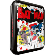 DC Batman Collector Playing Cards & Tin in Black