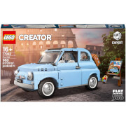 LEGO Creator Expert Fiat 500 Baby Blue Collectable Model (77942)