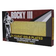Rocky - 24K Gold Plated Fight Ticket Rocky V Clubber Lang