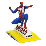 Diamond Select Marvel Gallery Spider-Man (PS4) PVC Figure - Spider-Man On Taxi