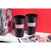 Marvel Logo Glass