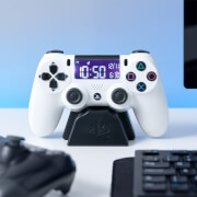 Playstation White Controller Alarm Clock
