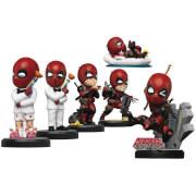 Beast Kingdom Deadpool Series Mini Egg Attack Figurine 6pc Set