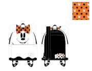 Loungefly Disney Ghost Minnie Glow In The Dark Cosplay Mini Backpack