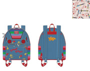 Loungefly Childs Play Chucky Cosplay Mini Backpack