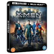 Marvel's X-Men: Days of Future Past - Zavvi Exclusive 4K Ultra HD Lenticular Steelbook (Includes Blu-ray)