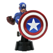 Diamond Select Marvel Comic Captain America Bust