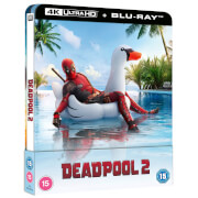 Deadpool 2 - Steelbook Lenticulaire 4K Ultra HD (Blu-Ray inclus) en Exclusivité Zavvi