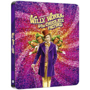 Charlie et la Chocolaterie - Steelbook 4K Ultra HD (Blu-ray inclus) - Exclusivité Zavvi