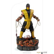 Iron Studios Mortal Kombat Art Scale Statue 1/10 Scorpion 22 cm