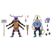 NECA Teenage Mutant Ninja Turtles Antrax and Scumbug 2-Pack 7 Inch Action Figures TMNT Cartoon