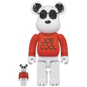 Medicom Peanuts Joe Cool 100% & 400% Be@rbrick 2 Pack