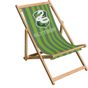 Decorsome x Harry Potter Slytherin Deck Chair