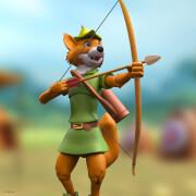 Super7 Disney ULTIMATES! Figure - Robin Hood with Stork Costume