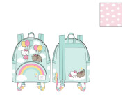 Loungefly Pusheen X Hello Kitty Balloons And Rainbow Mini Backpack