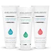 AMELIORATE Fresh Transforming Body Lotion Trio (Worth £71.00)