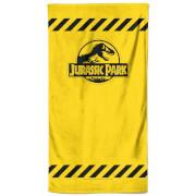 Jurassic Park Tape Beach Towel