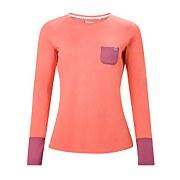 Women's Explorer Tech Tee Long Sleeve Crew - Pink