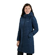 Women's Nula Micro Long Insulated Jacket - Blue