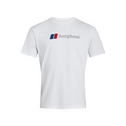 Men's Organic Big Classic Logo T-Shirt - White
