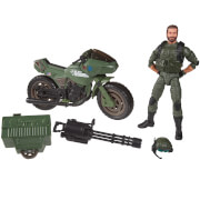 "Hasbro G.I. Joe Classified Series Alvin ""Breaker"" Kinney with RAM Cycle"