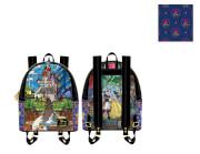 Loungefly Disney Princess Castle Series Belle Mini Backpack