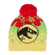 Jurassic Park Turn the Light Off Christmas Beanie Yellow