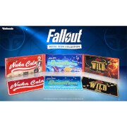 Doctor Collector Fallout Nuka Cola Metal Sign Triple Pack - Limited to 2077 Worldwide