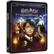 Harry Potter and The Philosopher's Stone - 4K Ultra HD Zavvi Exclusive 20th Anniversary Steelbook (Includes Blu-ray)