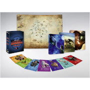 How to Train Your Dragon Trilogy - Zavvi Exclusive 4K Ultra HD Steelbook Boxset (Includes Blu-ray)