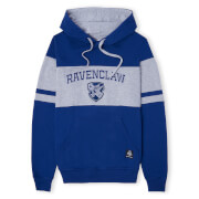 Ravenclaw House Panelled Hoodie - Navy