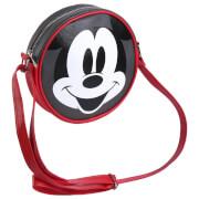 Disney Mickey Mouse Faux-Leather Shoulder Strap Handbag