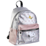 Snoopy and Woodstock Faux-Leather Backpack