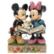 Disney Traditions Sharing Memories Mickey & Minnie 85th Anniversary Figurine